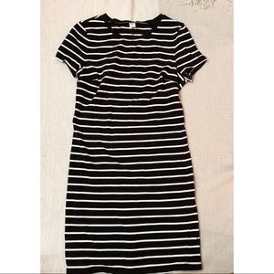 Old Navy Striped T-Shirt Dress